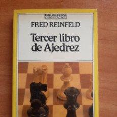 Coleccionismo deportivo: TERCER LIBRO DE AJEDREZ - FRED REINFELD. Lote 284617448