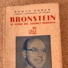Coleccionismo deportivo: BRONSTEIN, EL GENIO DEL AJEDREZ MODERNO (BOLS 12). Lote 288665773