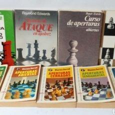 Colecionismo desportivo: LOTE DE LIBROS DE AJEDREZ. Lote 291159458
