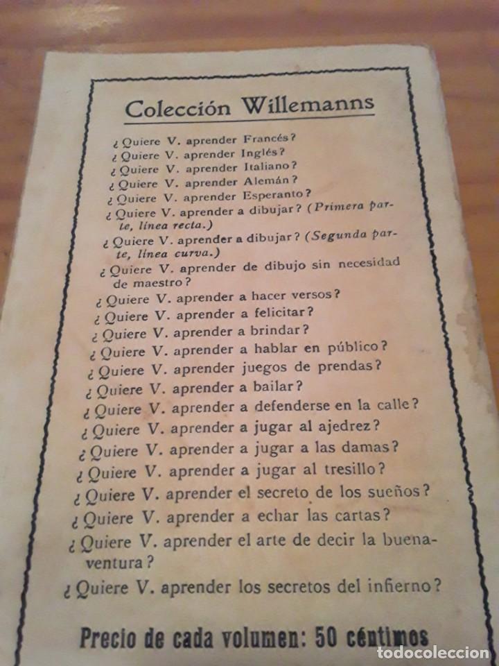 Coleccionismo deportivo: ¿QUIERE USTED APRENDER A JUGAR AJEDREZ?.COLECCION WILLEMANNS.F.GRANADA Y CIA EDITORES.64 PAGINAS. - Foto 2 - 293543708