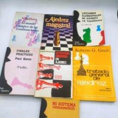 Coleccionismo deportivo: 7 LIBROS AJEDREZ. Lote 294942383