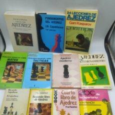 Coleccionismo deportivo: LOTE 11 LIBROS AJEDREZ. Lote 294943333