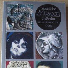 Libros - SCHÄTZE DER WELTKULTUR. STAATLICHE MUSEEN ZU BERLÍN HAUPTSTADT DER DDR ( MUSEOS EUROPEOS ) - 14064153