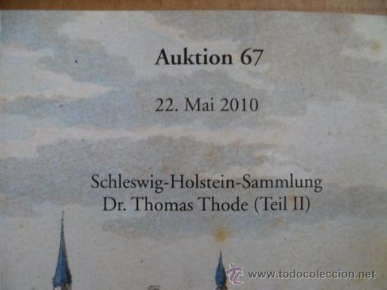 Libros: Libro en Aleman; AUKTION 67 - 22 de mayo 2010 SCHRAMM (vér fotos) - Foto 2 - 32603281