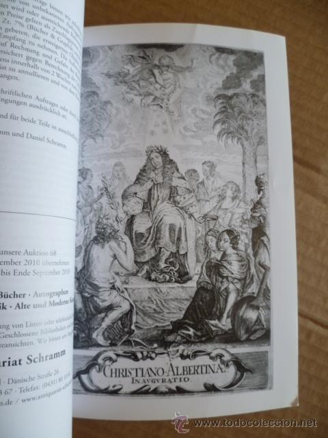 Libros: Libro en Aleman; AUKTION 67 - 22 de mayo 2010 SCHRAMM (vér fotos) - Foto 5 - 32603281