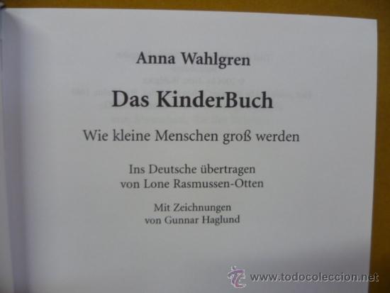 Libros: DAS KINDER BUCH, por Anna Walgren / BELTZ, 2004, 821 pag. (en aleman) - Foto 2 - 35056836
