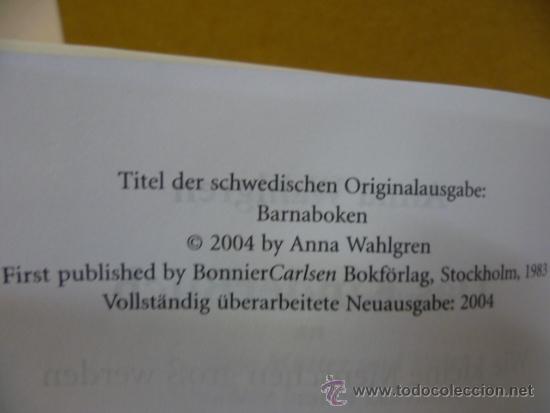 Libros: DAS KINDER BUCH, por Anna Walgren / BELTZ, 2004, 821 pag. (en aleman) - Foto 3 - 35056836