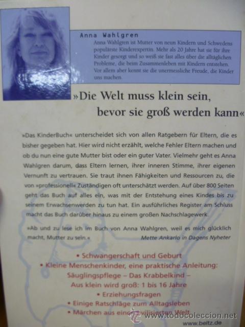 Libros: DAS KINDER BUCH, por Anna Walgren / BELTZ, 2004, 821 pag. (en aleman) - Foto 4 - 35056836