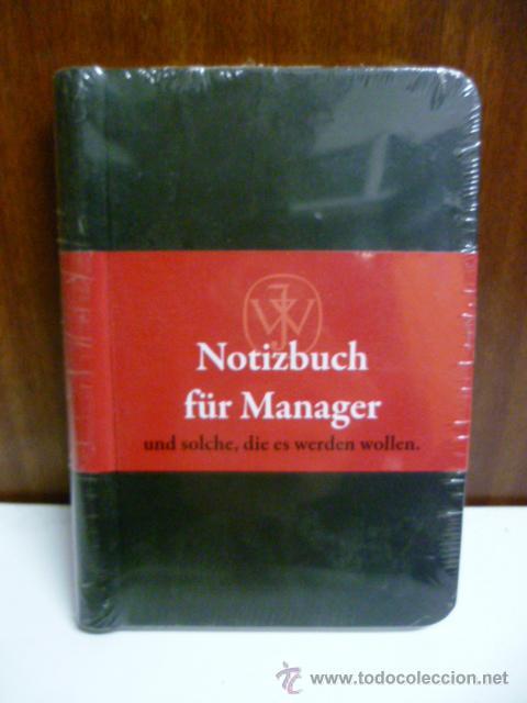 NOTIZBUCH FÜR MANAGER (EN ALEMAN) (Libros Nuevos - Idiomas - Alemán )
