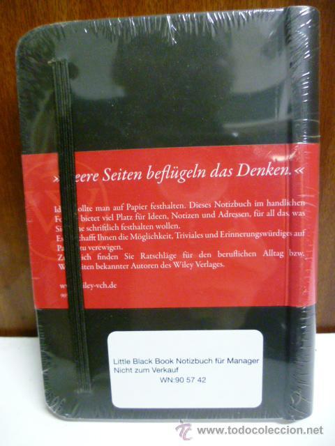 Libros: Notizbuch für Manager (en aleman) - Foto 2 - 42437922