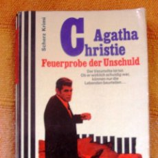 Libros: LIBRO AGATHA CHRISTIE ALEMAN FEUERPROBE DER UNSCHULD. Lote 47095093