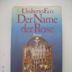 Libros: DER NAME DER ROSE. Lote 50048628