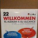 Libros: VAUGHAN / WILLKOMMEN - EL ALEMÁN A SU ALCANCE / VOL. 22 + CD / PRECINTADO.. Lote 156612672