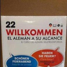 Libros: VAUGHAN / WILLKOMMEN - EL ALEMÁN A SU ALCANCE / VOL. 22 + CD / PRECINTADO.. Lote 94952463