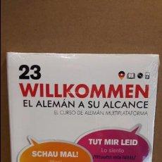 Libros: VAUGHAN / WILLKOMMEN - EL ALEMÁN A SU ALCANCE / VOL. 23 + CD / PRECINTADO.. Lote 191714900