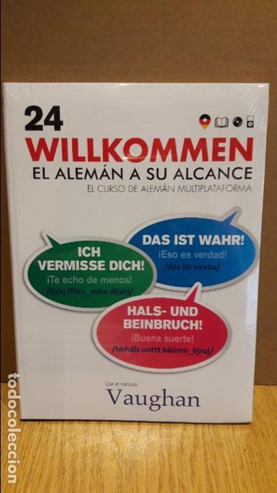 VAUGHAN / WILLKOMMEN - EL ALEMÁN A SU ALCANCE / VOL. 24 + CD / PRECINTADO. (Libros Nuevos - Idiomas - Alemán )