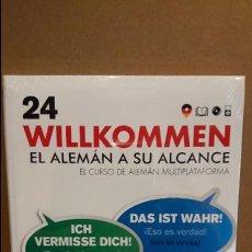 Libros: VAUGHAN / WILLKOMMEN - EL ALEMÁN A SU ALCANCE / VOL. 24 + CD / PRECINTADO.. Lote 191714972