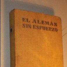 Livres: EL INGLES SIN ESFUERZO EL ALEMAN SIN ESFUERZO ASSIMIL 1958-1959. Lote 103932431