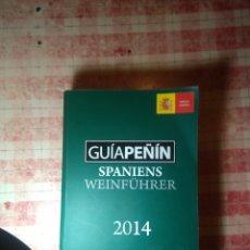 Libros: GUIA PEÑIN SPANIENS WEINFÚHRER. Lote 118988095