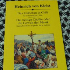 Libros: CURSO DE IDIOMAS PLANETA AGOSTINI - ALEMÁN - HEINRICH VON KLEIST - DAS ERDBEBEN IN CHILI Y OTRO.. Lote 210795331