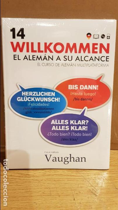 VAUGHAN / WILLKOMMEN - EL ALEMÁN A SU ALCANCE / VOL. 14 + CD / PRECINTADO. (Libros Nuevos - Idiomas - Alemán )