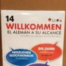 Libros: VAUGHAN / WILLKOMMEN - EL ALEMÁN A SU ALCANCE / VOL. 14 + CD / PRECINTADO.. Lote 141467694