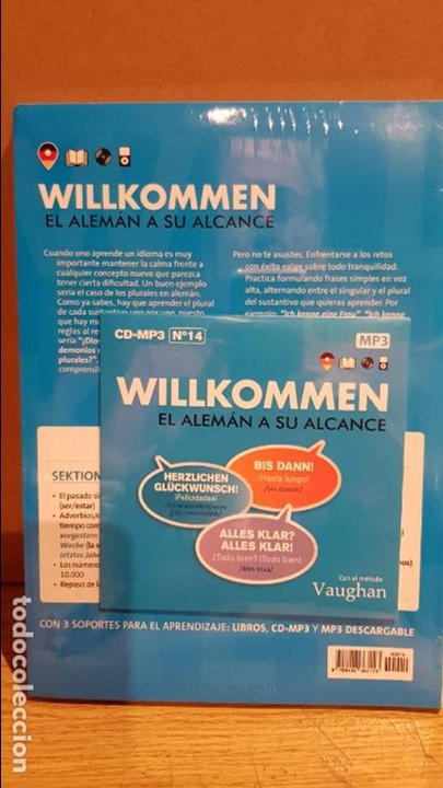 Libros: VAUGHAN / WILLKOMMEN - EL ALEMÁN A SU ALCANCE / VOL. 14 + CD / PRECINTADO. - Foto 2 - 218124653