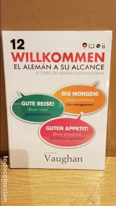 VAUGHAN / WILLKOMMEN - EL ALEMÁN A SU ALCANCE / VOL. 12 + CD / PRECINTADO. (Libros Nuevos - Idiomas - Alemán )