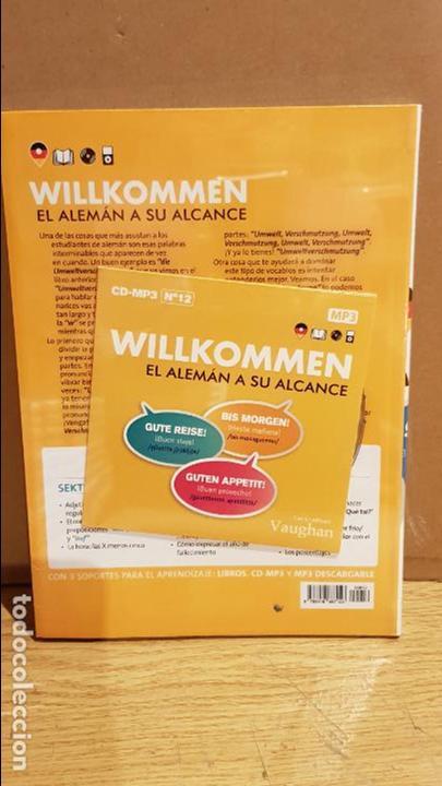 Libros: VAUGHAN / WILLKOMMEN - EL ALEMÁN A SU ALCANCE / VOL. 12 + CD / PRECINTADO. - Foto 2 - 141467866