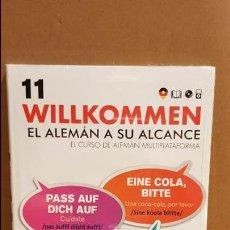 Libros: VAUGHAN / WILLKOMMEN - EL ALEMÁN A SU ALCANCE / VOL. 11 + CD / PRECINTADO.. Lote 141467922