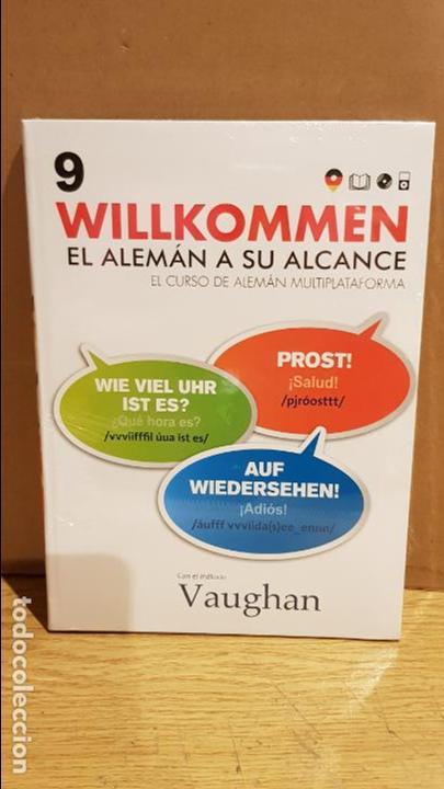 VAUGHAN / WILLKOMMEN - EL ALEMÁN A SU ALCANCE / VOL. 9 + CD / PRECINTADO. (Libros Nuevos - Idiomas - Alemán )