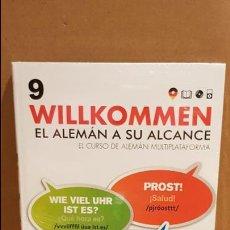 Libros: VAUGHAN / WILLKOMMEN - EL ALEMÁN A SU ALCANCE / VOL. 9 + CD / PRECINTADO.. Lote 141467954