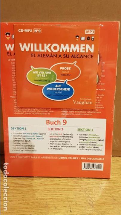 Libros: VAUGHAN / WILLKOMMEN - EL ALEMÁN A SU ALCANCE / VOL. 9 + CD / PRECINTADO. - Foto 2 - 141467954