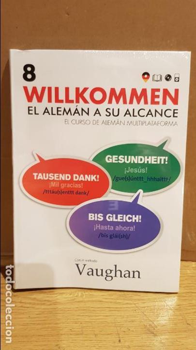 VAUGHAN / WILLKOMMEN - EL ALEMÁN A SU ALCANCE / VOL. 8 + CD / PRECINTADO. (Libros Nuevos - Idiomas - Alemán )