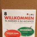 Libros: VAUGHAN / WILLKOMMEN - EL ALEMÁN A SU ALCANCE / VOL. 8 + CD / PRECINTADO.. Lote 141468006