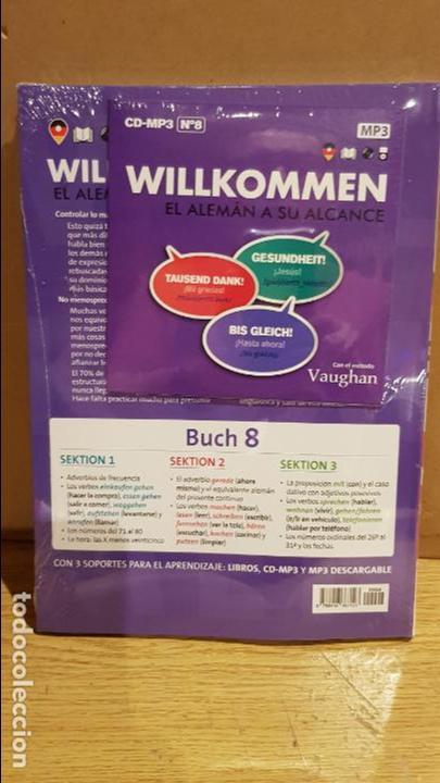 Libros: VAUGHAN / WILLKOMMEN - EL ALEMÁN A SU ALCANCE / VOL. 8 + CD / PRECINTADO. - Foto 2 - 141468006