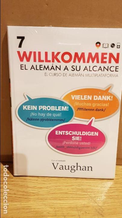 VAUGHAN / WILLKOMMEN - EL ALEMÁN A SU ALCANCE / VOL. 7 + CD / PRECINTADO. (Libros Nuevos - Idiomas - Alemán )