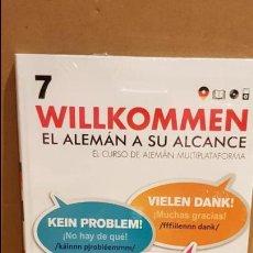 Libros: VAUGHAN / WILLKOMMEN - EL ALEMÁN A SU ALCANCE / VOL. 7 + CD / PRECINTADO.. Lote 141468070
