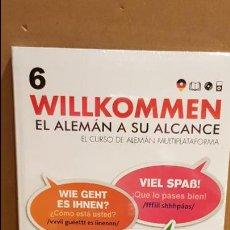 Libros: VAUGHAN / WILLKOMMEN - EL ALEMÁN A SU ALCANCE / VOL. 6 + CD / PRECINTADO.. Lote 141468130