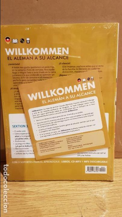 Libros: VAUGHAN / WILLKOMMEN - EL ALEMÁN A SU ALCANCE / VOL. 6 + CD / PRECINTADO. - Foto 2 - 141468130