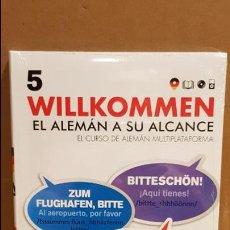 Libros: VAUGHAN / WILLKOMMEN - EL ALEMÁN A SU ALCANCE / VOL. 5 + CD / PRECINTADO.. Lote 141468178