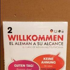 Libros: VAUGHAN / WILLKOMMEN - EL ALEMÁN A SU ALCANCE / VOL. 2 + CD / PRECINTADO.. Lote 141468230