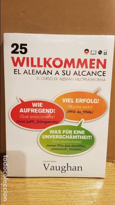 VAUGHAN / WILLKOMMEN - EL ALEMÁN A SU ALCANCE / VOL. 25 + CD / PRECINTADO. (Libros Nuevos - Idiomas - Alemán )