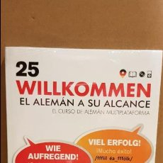 Libros: VAUGHAN / WILLKOMMEN - EL ALEMÁN A SU ALCANCE / VOL. 25 + CD / PRECINTADO.. Lote 141468250