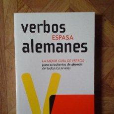 Libros: VERBOS ESPASA ALEMANES. Lote 147444942