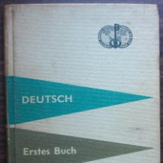 Libros: DEUTSCH. ERSTES BUCH. BERLITZ. 220ª AUFLAGE. 1962.. Lote 147676174