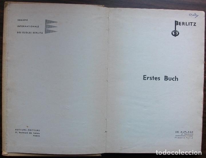 Libros: DEUTSCH. ERSTES BUCH. BERLITZ. 220ª AUFLAGE. 1962. - Foto 2 - 147676174