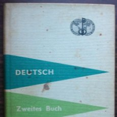 Libros: DEUTSCH. ZWEITES BUCH. BERLITZ. 109ª AUFLAGE. 1961. (CATHY MILLAN). Lote 147676566