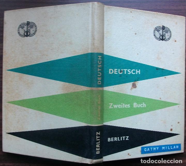 Libros: DEUTSCH. ZWEITES BUCH. BERLITZ. 109ª AUFLAGE. 1961. (CATHY MILLAN) - Foto 5 - 147676566