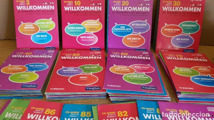 WILLKOMMEN / EL ALEMÁN A SU ALCANCE / A FALTA DEL Nº 1 / TOTAL 87 CDS DE LUJO./ SUPER OCASIÓN !! (Libros Nuevos - Idiomas - Alemán )